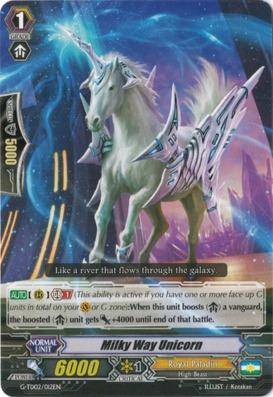 Milky Way Unicorn - G-TD02/012EN