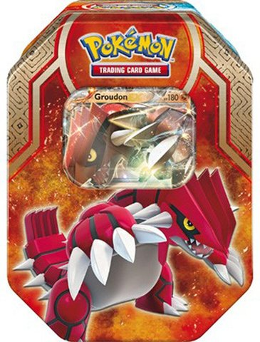 Legends of Hoenn Tin (Groudon EX)
