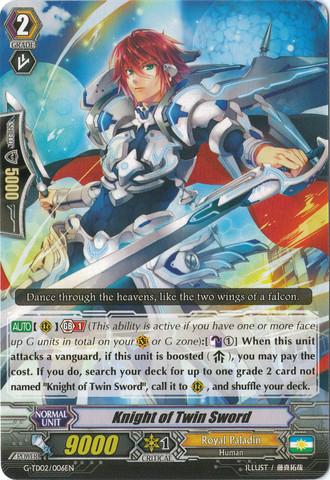Knight of Twin Sword - G-TD02/006EN (C)
