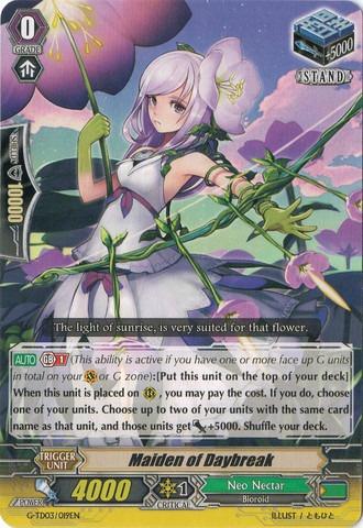 Maiden of Daybreak - G-TD03/019EN (C)