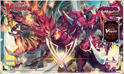 Cardfight Vanguard Blazing Perdition Dragon Dragonic Neoflame Playmat
