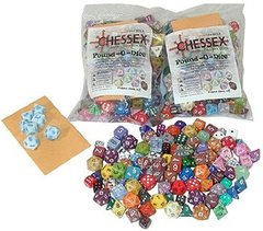 CHX001LB Pound-O-Dice (80-100 Assorted Dice)