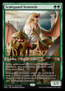 Scaleguard Sentinels - Dragons of Tarkir Game Day Promo