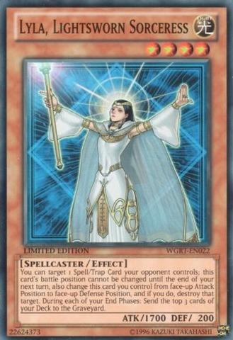 Lyla, Lightsworn Sorceress - WGRT-EN022 - Super Rare - Limited Edition