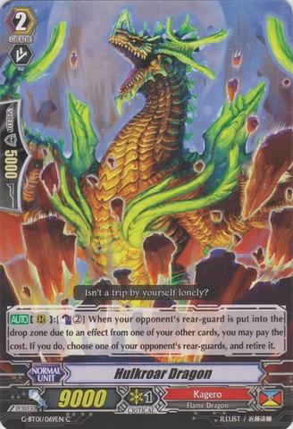 Hulkroar Dragon - G-BT01/069EN - C