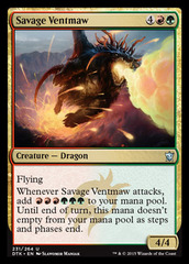 Savage Ventmaw - Foil