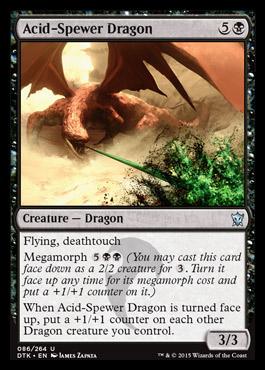 Acid-Spewer Dragon - Foil