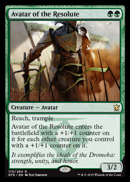 Avatar of the Resolute - Foil