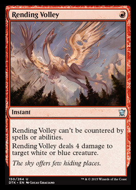 Rending Volley - Foil