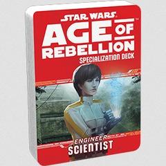 Star Wars RPG: Age of Rebellion - Engineer Scientist Specialization Deck