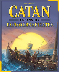 Catan 5th Edition - Explorers & Pirates
