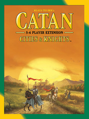 Catan: Cities & Knights – 5-6 Player Extension (2015) (In-Store Sales Only)