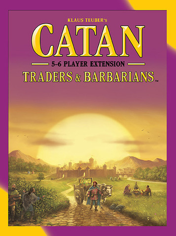 Catan: Traders & Barbarians – 5-6 Player Extension (2015)