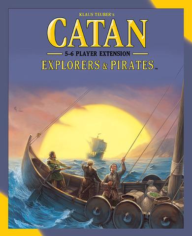 Catan: Explorers & Pirates – 5-6 Player Extension (2015)