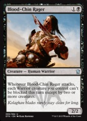 Blood-Chin Rager - Foil on Channel Fireball