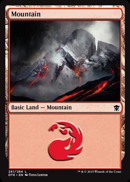Mountain (261) - Foil