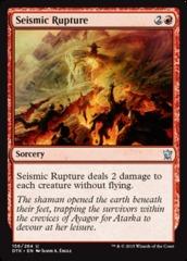 Seismic Rupture - Foil