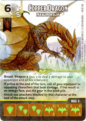 Copper Dragon - Paragon Dragon (Card Only)