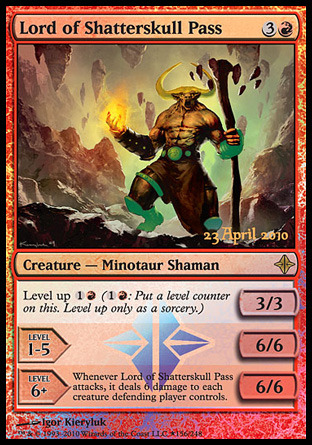 Lord of Shatterskull Pass - Foil - Launch Promo