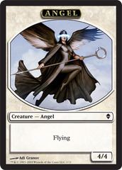 Angel - Token (White) Zendikar