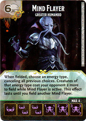 Mind Flayer - Greater Humanoid (Die & Card Combo)