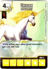 Unicorn - Paragon Beast (Die & Card Combo)
