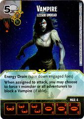 Vampire - Lesser Undead (Die & Card Combo)