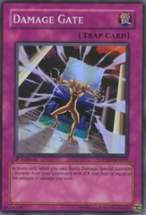 Damage Gate - TSHD-EN070 - Super Rare - 1st Edition