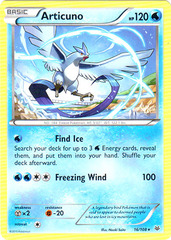 Articuno - 16/108 - Rare on Channel Fireball