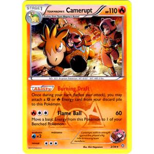 Team Magma's Camerupt - 2/34 - Holo Rare