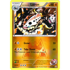 Team Magma's Lairon - 13/34 - Common - Reverse Holo