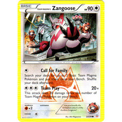 Team Magma's Zangoose - 22/34 - Common