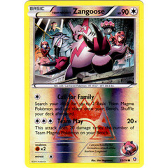Team Magma's Zangoose - 22/34 - Common - Reverse Holo
