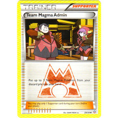 Team Magma Admin - 29/34 - Uncommon on Channel Fireball