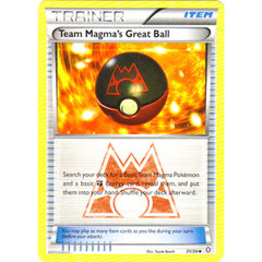Team Magma's Great Ball - 31/34 - Uncommon