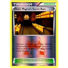 Team Magma's Secret Base - 32/34 - Uncommon - Reverse Holo