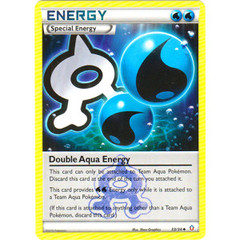 Double Aqua Energy - 33/34 - Uncommon on Channel Fireball