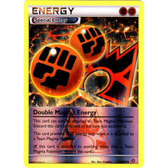 Double Magma Energy - 34/34 - Uncommon - Reverse Holo on Channel Fireball