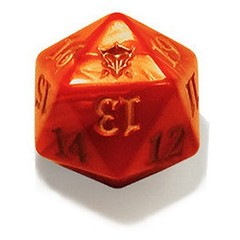 Magic Spindown Die - Dragons of Tarkir Tarkir Dragonfury Red