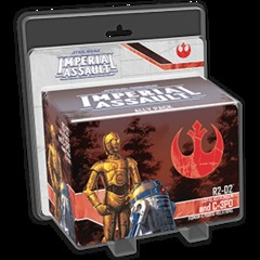 Star Wars Imperial Assault: R2-D2 and C-3PO Ally Pack © 2015 FFG SWI12