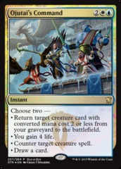 Ojutai's Command - (Dragons of Tarkir Buy-a-Box Promo)