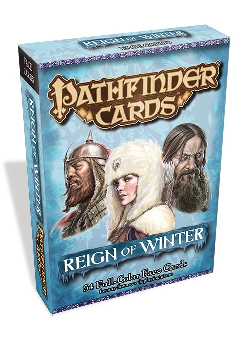 Pathfinder Face Cards: Reign of Winter Adventure Path