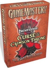 GameMastery Item Cards: Curse of the Crimson Throne Deck