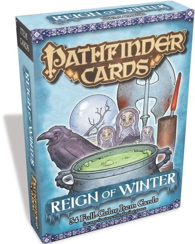 Pathfinder Cards: Reign of Winter Item Cards
