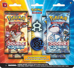Pokemon XY Double Crisis Blister Pack - Team Aqua Pin