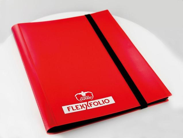 Ultimate Guard FlexXfolio - 4 Pocket -  red