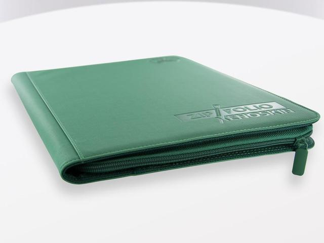 Ultimate Guard Zipfolio XenoSkin - 9 Pocket -  green