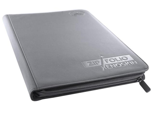 Ultimate Guard Zipfolio XenoSkin - 9 Pocket -  grey