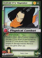 Android 17's Haymaker