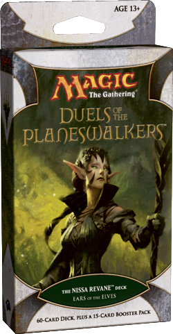 Duels of the Planeswalkers: Ears of the Elves - The Nissa Revane Deck